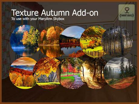 Skybox MaryAnn - Addon Autumn Pack