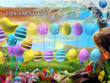 {RC} Easter Decoration Balloons