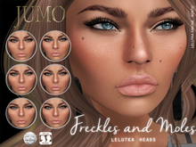 .:JUMO:. Freckles and Moles - Lelutka - ADD ME