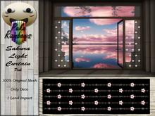 [PR] Sakura Light Curtain - Pink (Boxed)