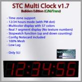 Multi Clock V1.7 Builders Edition