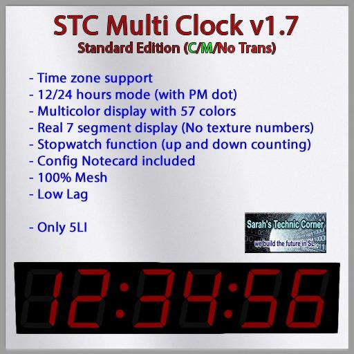 Multi Clock V1.7 Standard Edition