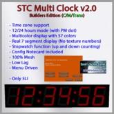 Multi Clock V2.0 Builders Edition