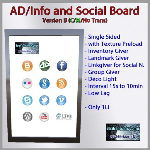 STC-AD/Info and Social Board V1.1B