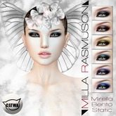 "MRM ""Mirella"" Eyes Makeup Static/ Bento Catwa Head -  V.1.0 box"