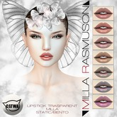 "MRM ""Milla Trasparent"" Lipstick Classic/ Bento Catwa Head"