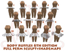 Body Ruffles 6th edition FULL PERM SCULPT+SHADEMAPS