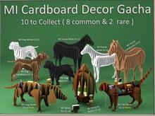 MI Dog Cardboard