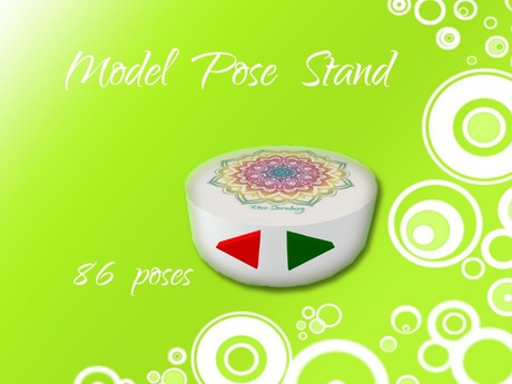 Model Pose Stand **86 poses**
