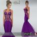 Marcellina poster purple