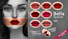 /Mr.Ronnie/ lipstick set Bella Catwa Omega