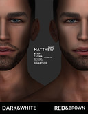 /Mr Ronnie/ beard Matthew Black\White #TMP Catwa Omega Signature