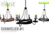 inVerse® MESH - Chandelier #1  MESH full permission