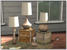 Yesteryears Retro Lamp Set