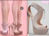 [BREATHE]-Milena Heels-Nude-(for Slink High Feet & Maitreya Lara & Belleza)