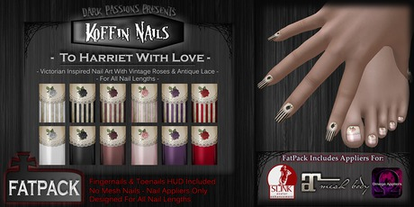 DP - Koffin Nails - FatPack - To Harriet With Love
