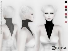Zibska ~ SineV Neck Tattoos includes Three Colours in Three Transparencies