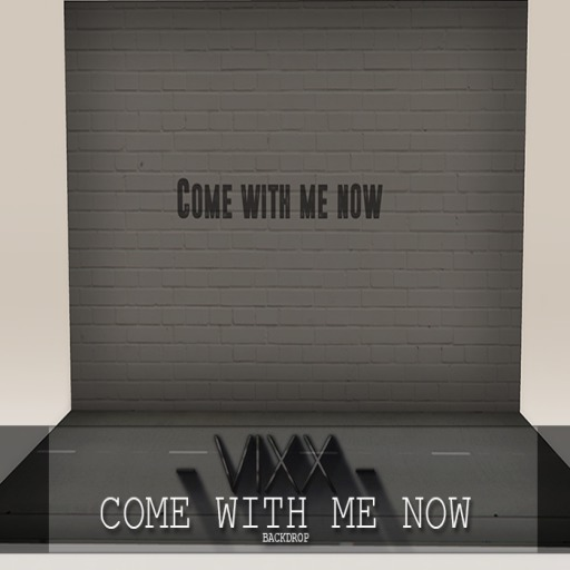 -VIXX- Mesh backdrop - Come with me now