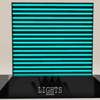 -VIXX- Mesh backdrop - Lights