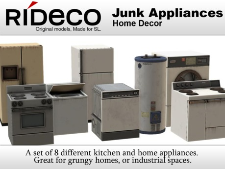 RiDECO - Junk Appliances
