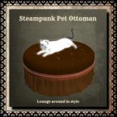 Steampunk Pet Ottoman
