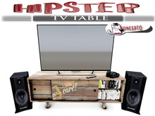 Koncepto Hipster Tv Table