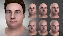 piggu Jonathan's Expression Heads