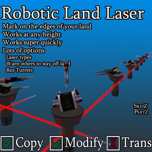Skidz Partz - Robotic Land Lazer 3.1