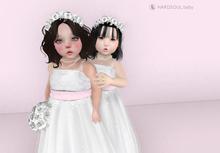 [HD] Emma Bridal white (Toddleedoo baby)