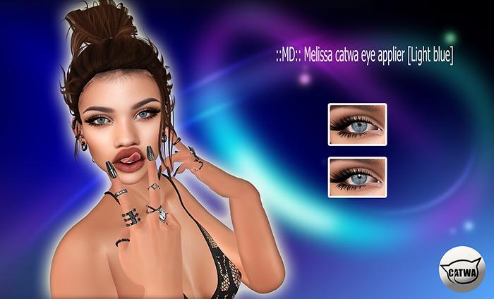 ::MD:: Melissa catwa eye applier [Light blue]