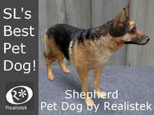 Realistek MESH Pet Dog / Shepherd