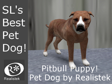 Realistek MESH Pet Dog / Bull Terrrier Puppy