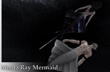 Manta Ray Mermaid Tail
