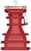 "Asteria ""Sassy"" [Maitreya/Belleza] Banded Dress - Red"