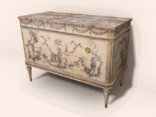 Italian painted Commode - C&G -