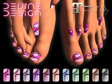 Devine Design - Maitreya Special Design Finger & Toe Nails 01