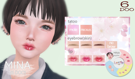 [Luv:Ya] MINA skin applier (for 6DOO)