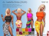 -JL- Isabella Outfit (HUD) for Maitreya, Slink (all), Belleza (all), Classic