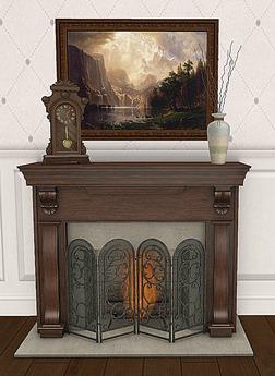 {ACD} Domicile Fireplace Set PG