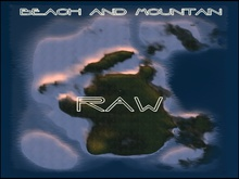 BEACH AND MOUNTAIN RAW