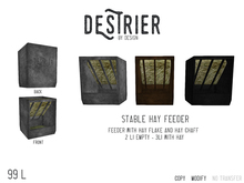 Destrier by Design - Hay Feeder (Boxed)