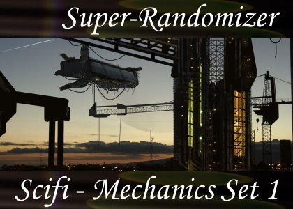 Super-Randomizer Orb / Scifi - Mechanics Set #1 (30 Sounds)