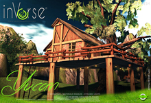 Yucan -  furnished tree house cottage bxd 1.0