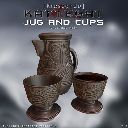 [Kres] Kattegat - Jug and Cups