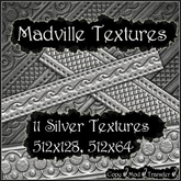 Madville Textures - Ornamental Silver Textures 2
