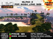 Island2 for 64x64 land size or skybox