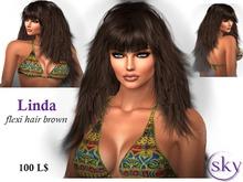 Linda hair - brown
