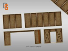 [DS] Plywood Walls