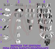 Ruffles 1st edition FULL PERM SCULPT+SHADEMAPS