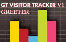 Visitor Counter Visitor Greeter Visitor tracker Visitor Stats